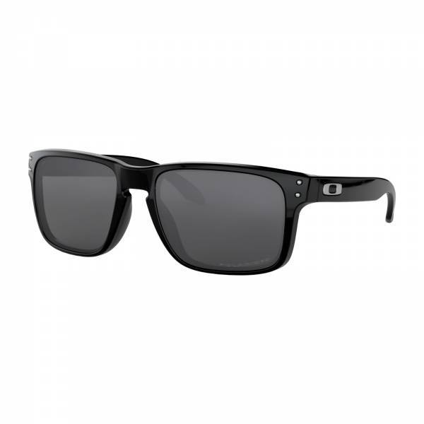 Oakley Holbrook Polished Black - Grey Polarized Napszemüveg OO9102-02