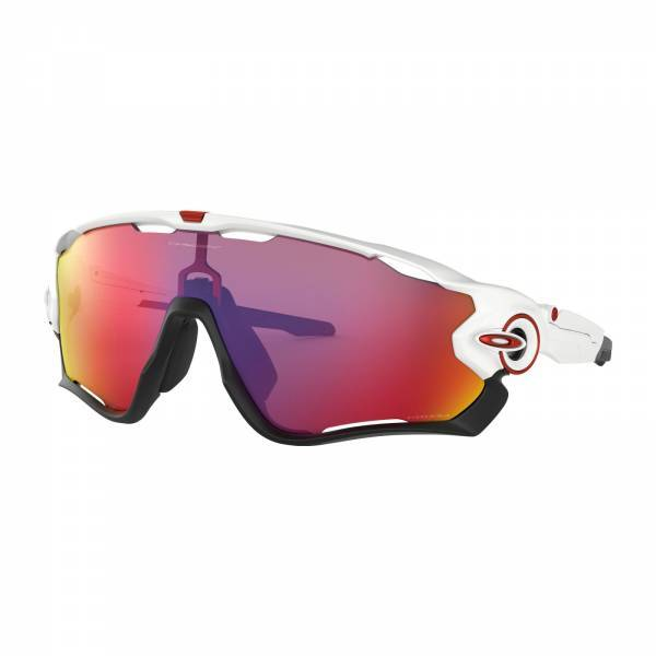Oakley Jawbreaker Polished White - Prizm Road Napszemüveg