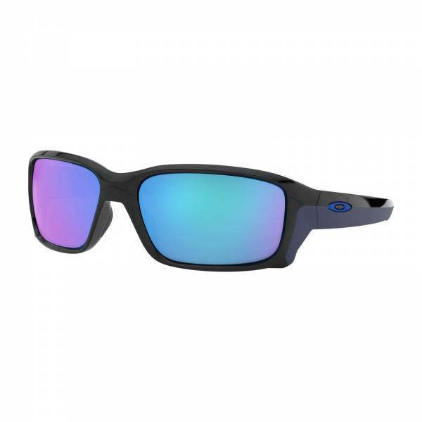 Oakley Straightlink Polished Black - Sapphire Iridium Napszemüveg
