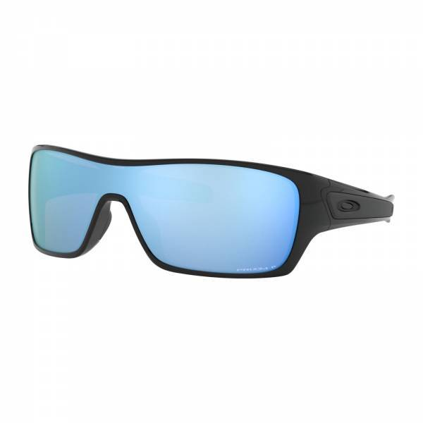 Oakley Turbine Rotor Polished Black - Prizm Deep Water Polarized Napszemüveg