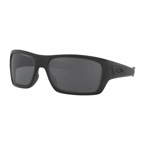Oakley Turbine Matte Black - Grey Polarized Napszemüveg