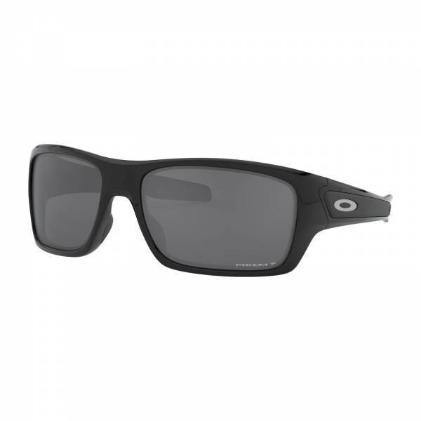 Oakley Turbine Polished Black - Prizm Black Polarized Napszemüveg