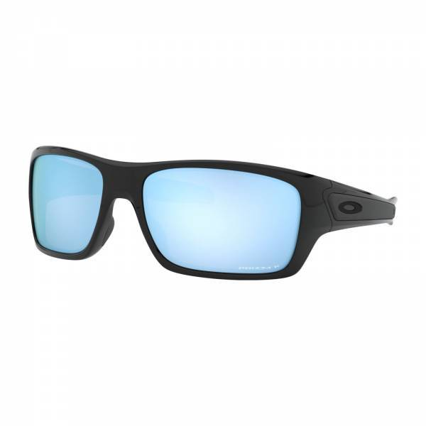 Oakley Turbine Polished Black - Prizm Deep Water Polarized Napszemüveg