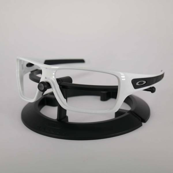Oakley Turbine Rotor Frame - Polished White / Satine Silver Keret