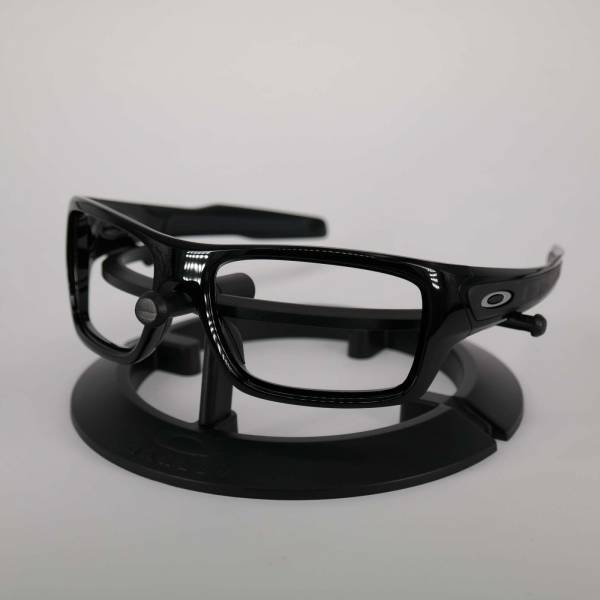 Oakley Turbine Frame - Polished Black / Satine Silver Keret