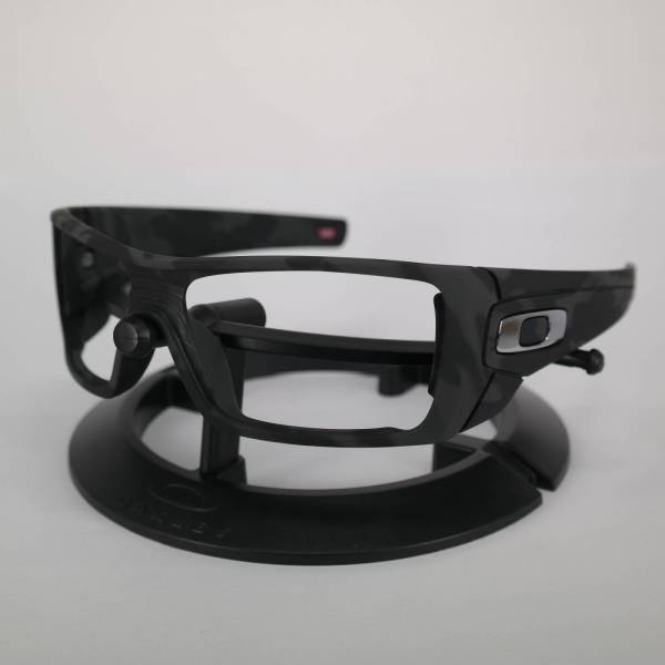 Oakley Batwolf Frame - Matte Black Camo / Polished Chrome Keret
