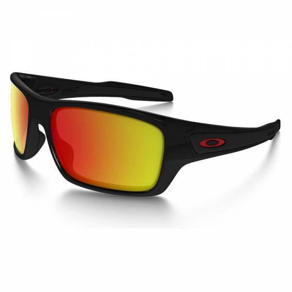Oakley Turbine Custom Polished Black - Prizm Ruby Polarized - Redline Napszemüveg