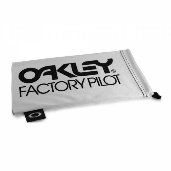 Oakley Factory Pilot White Black Large Microbag Mikroszálas tok