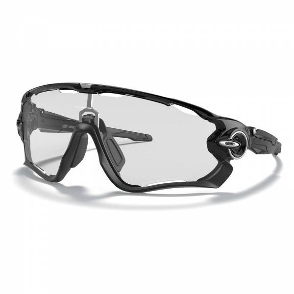 Oakley Jawbreaker Polished Black - Clear to Black Photochromic Napszemüveg