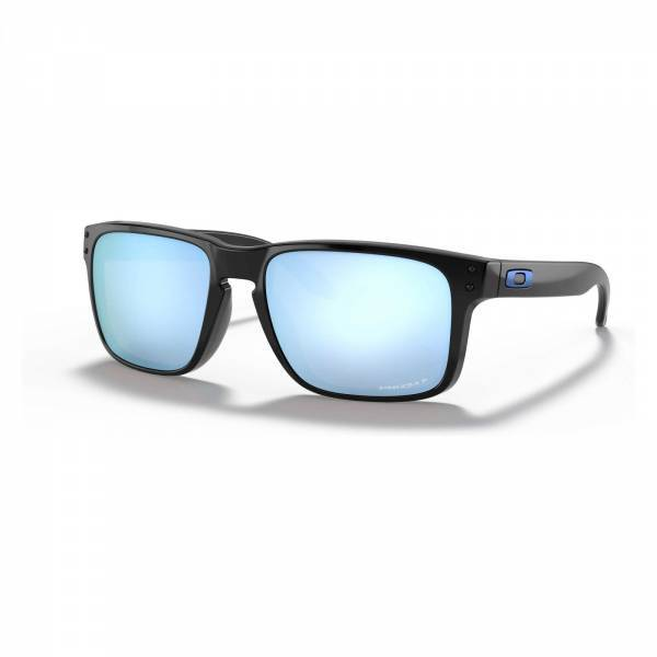 Oakley Holbrook Polished Black - Prizm Deep Water Polarized Napszemüveg OO9102-C1