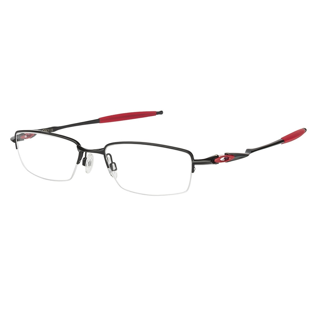 Oakley Coverdrive Polished Black / Red 53 Optikai keret