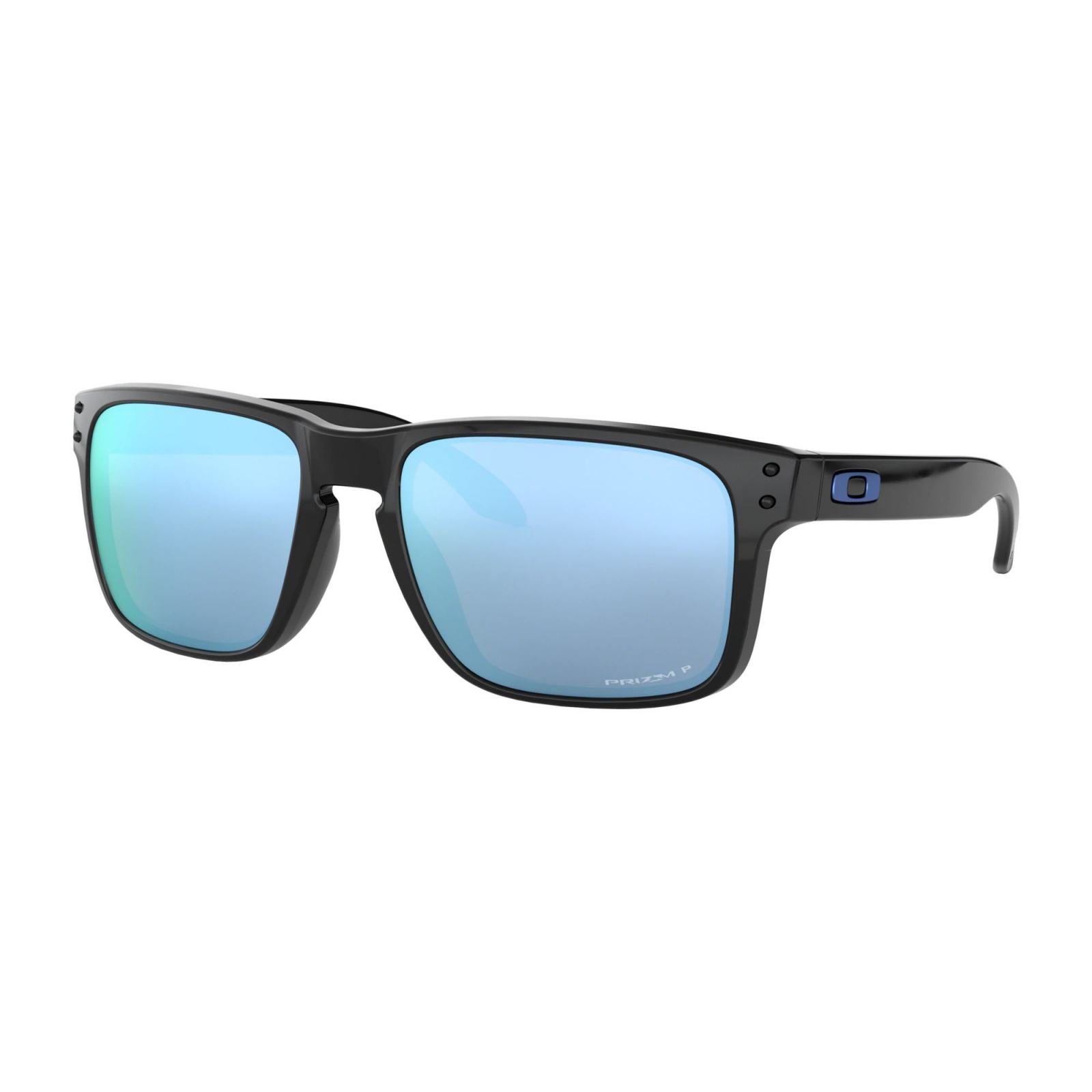 Oakley Holbrook Polished Black - Prizm Deep Water Polarized Napszemüveg