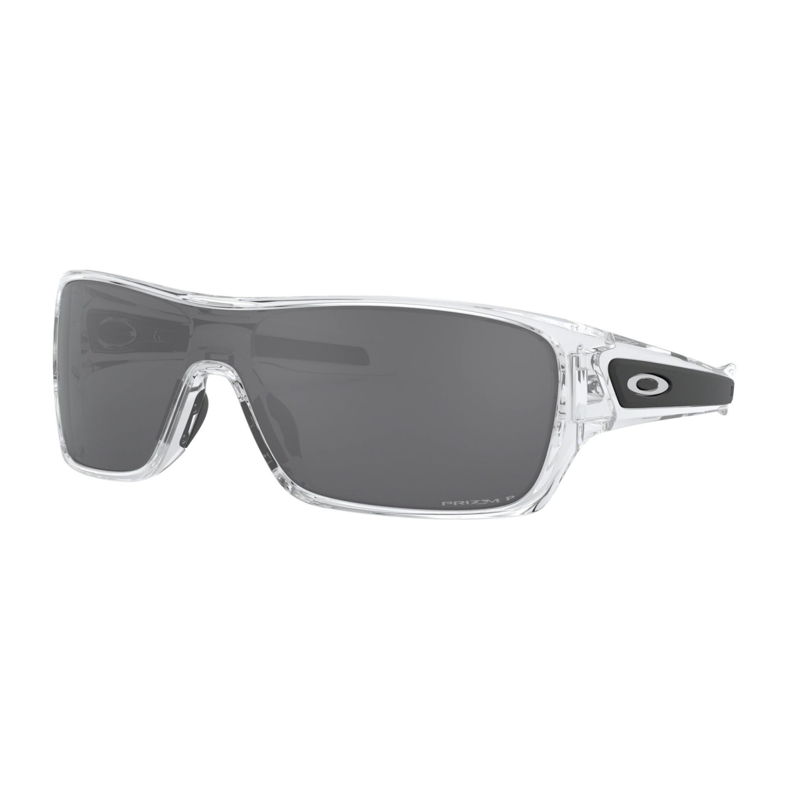 Oakley Turbine Rotor Polished Clear - Prizm Black Polarized Napszemüveg