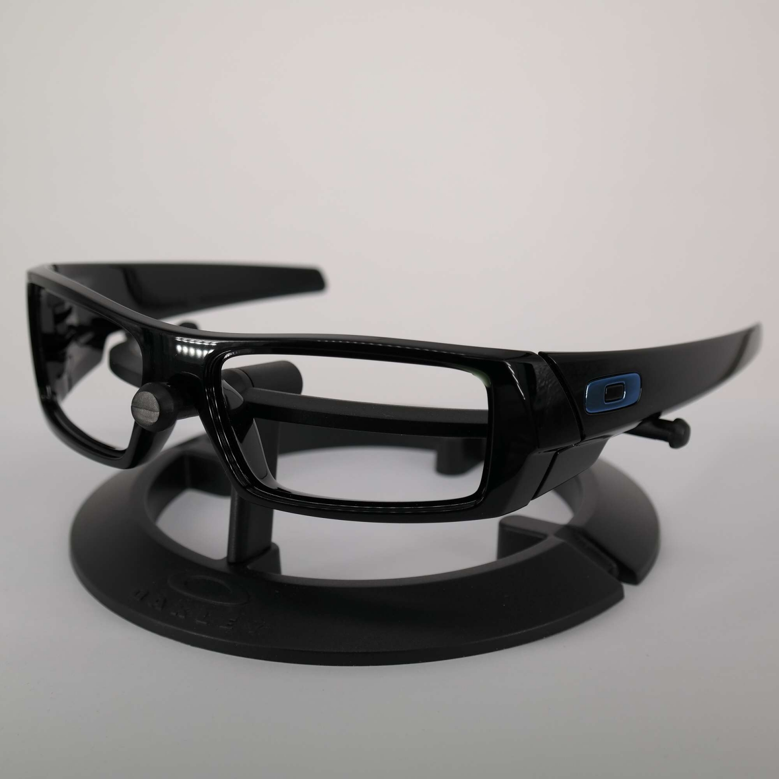 Oakley Gascan Frame - Polished Black / Deep Blue Keret