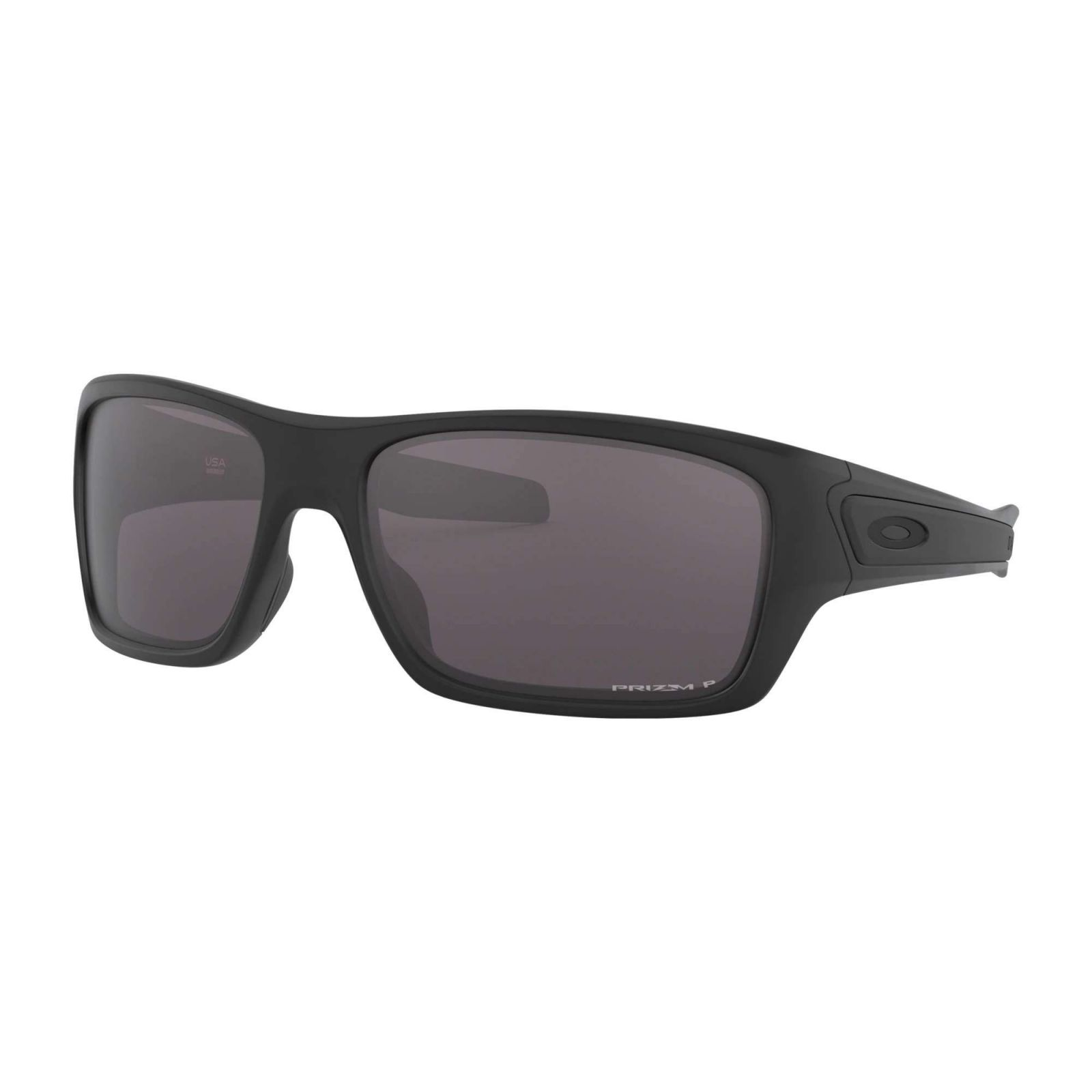 Oakley Turbine Matte Black - Prizm Grey Polarized Napszemüveg