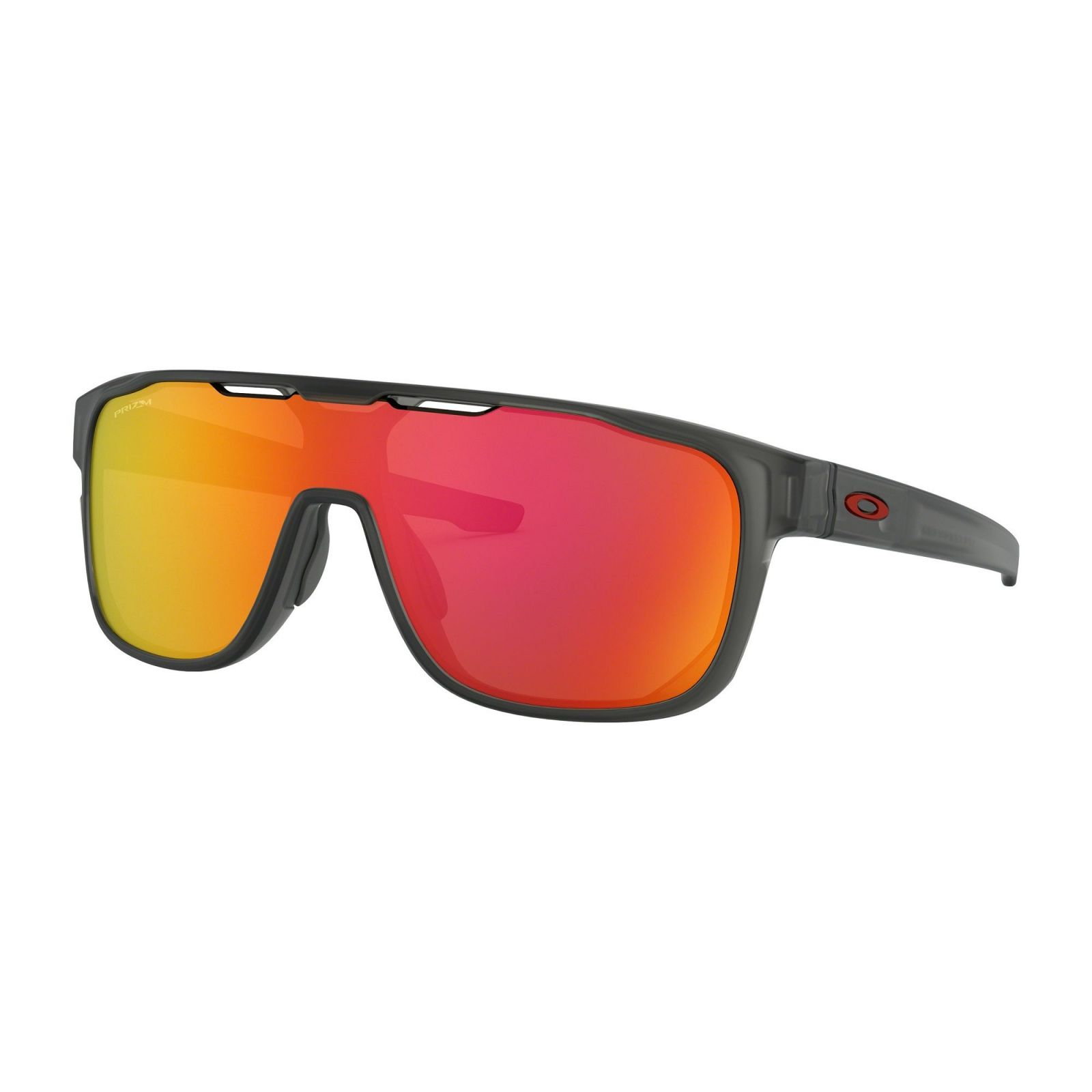Oakley Crossrange Shield Matte Grey Smoke - Prizm Ruby Napszemüveg