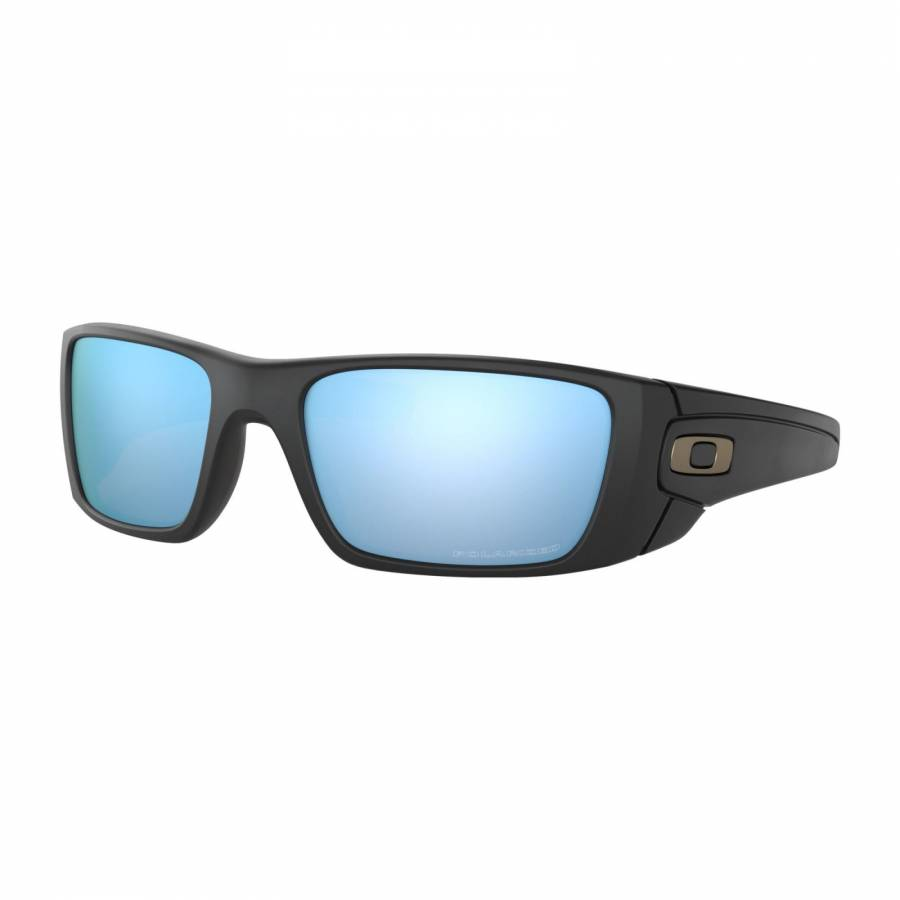 Oakley Fuel Cell Matte Black - Prizm Deep Water Polarized Napszemüveg- OO9096-D8