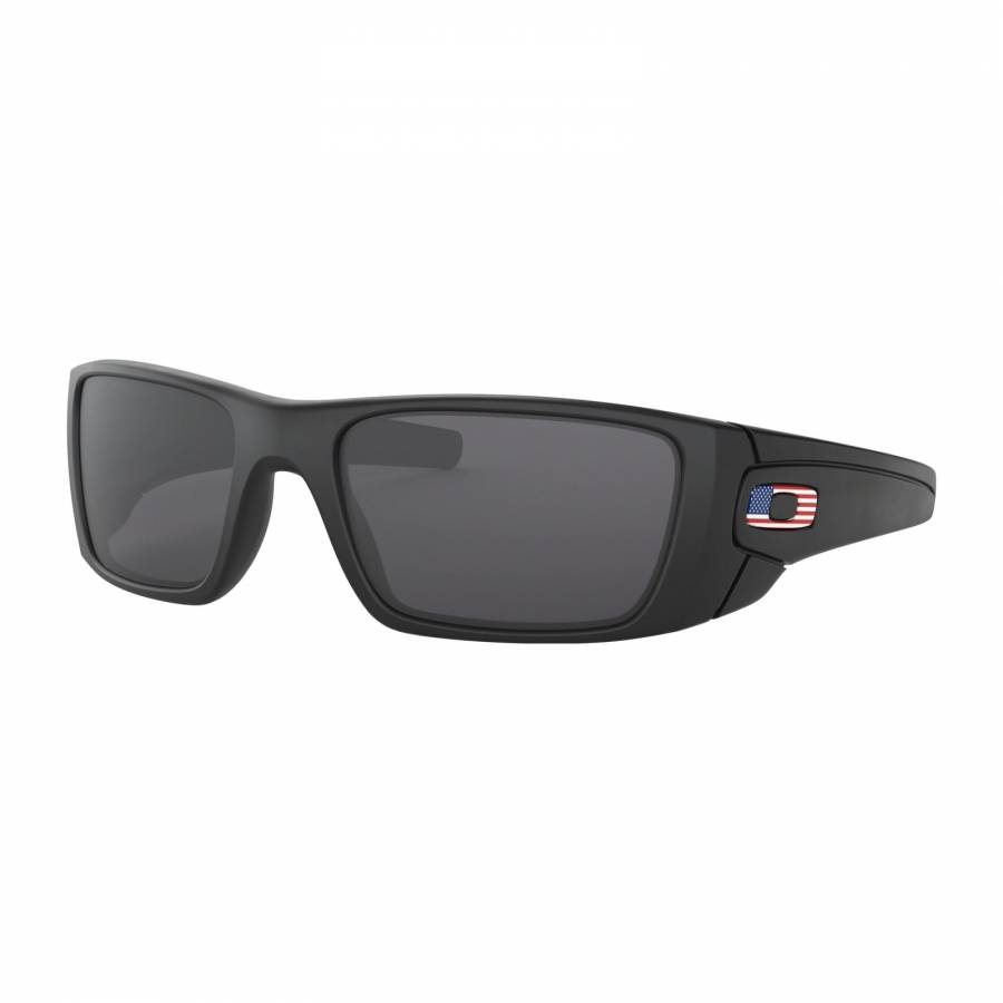 Oakley Fuel Cell SI Matte Black USA Flag - Grey Napszemüveg- OO9096-38