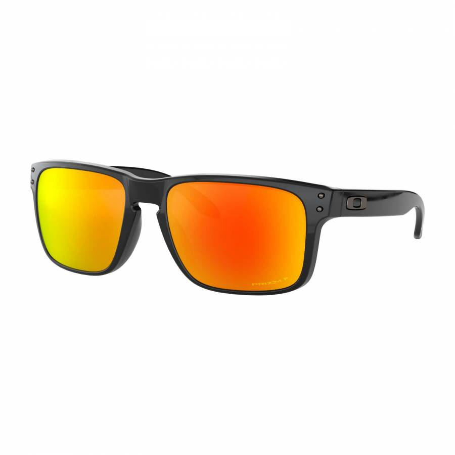 Oakley Holbrook Polished Black - Prizm Ruby Polarized Napszemüveg- OO9102-F155