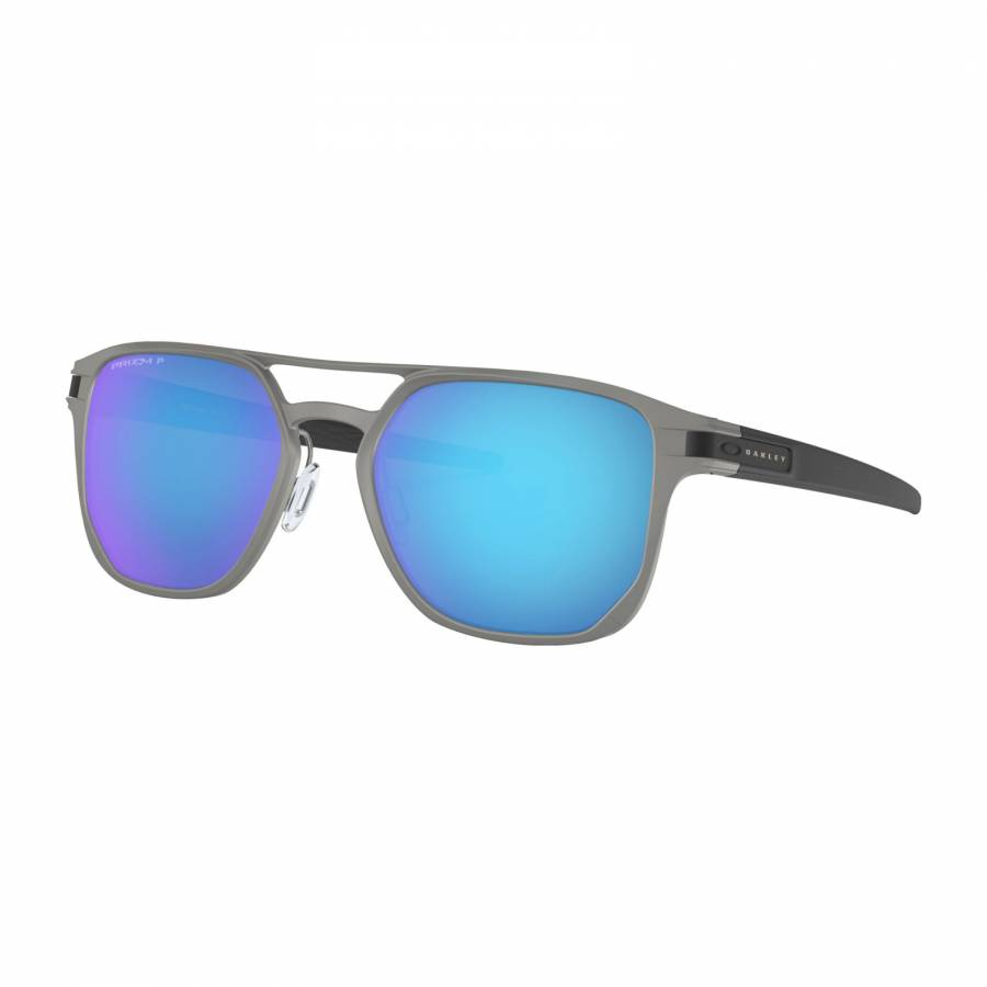 Latch Alpha Matte Light Gunmetal - Prizm Sapphire Polarized