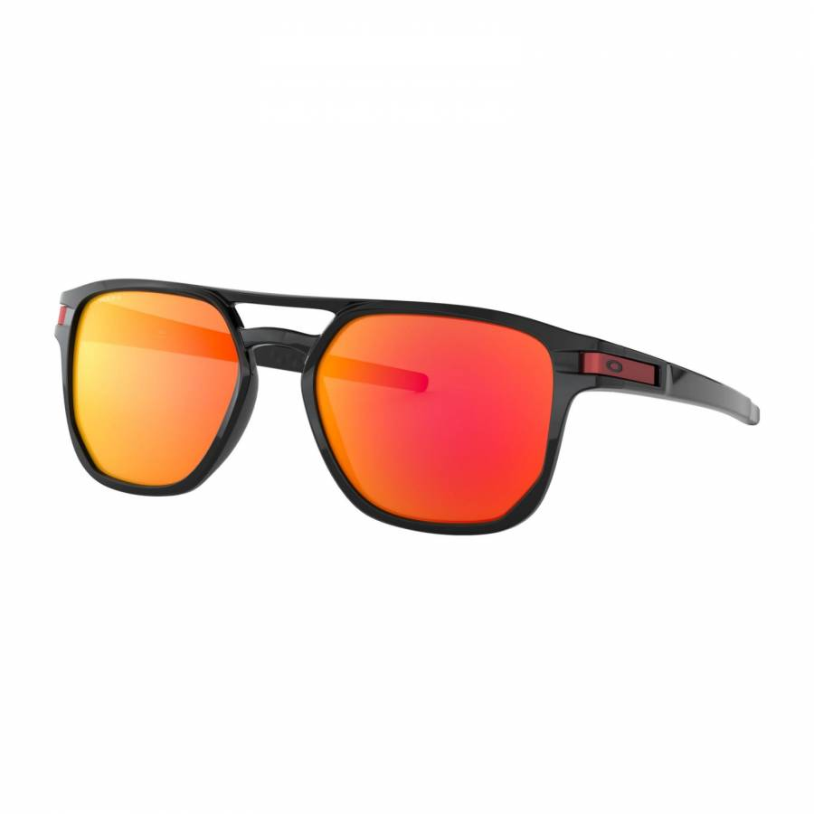 Oakley Latch Beta Polished Black - Prizm Ruby Napszemüveg- OO9436-0754