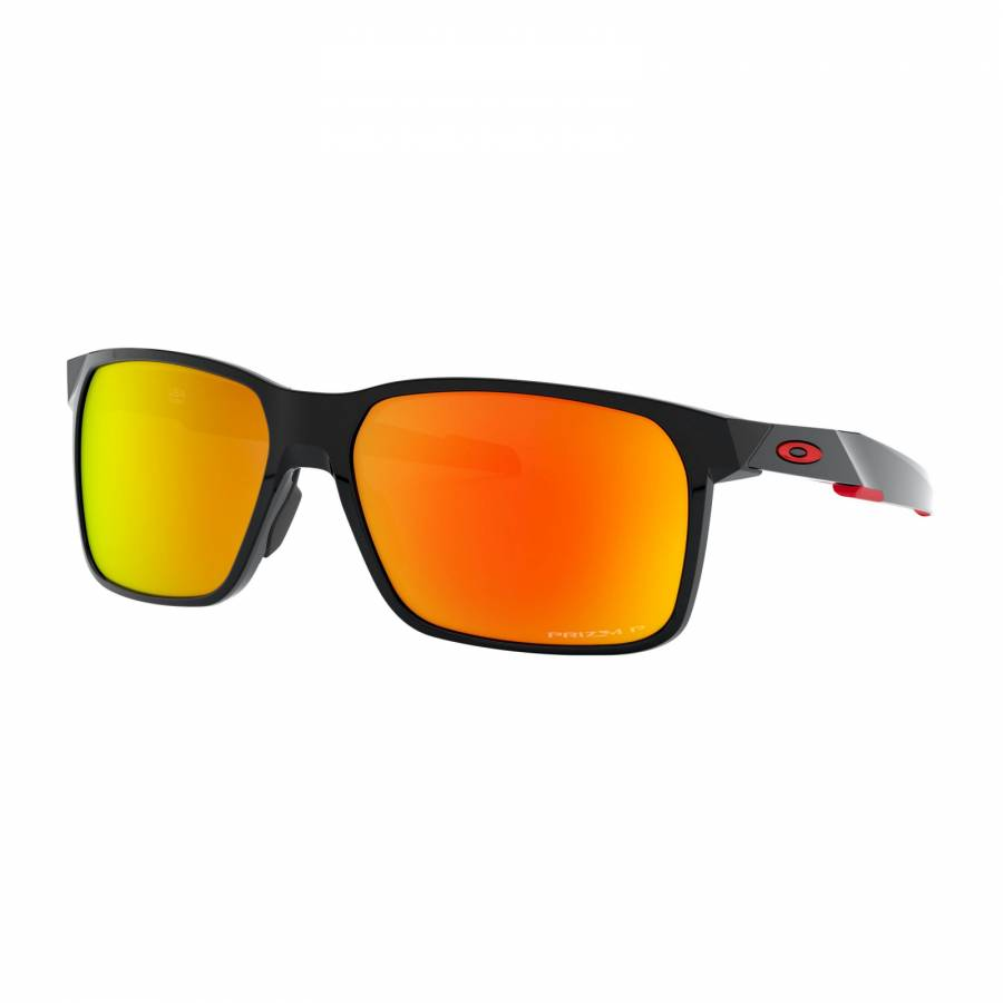 Oakley Portal X Polished Black - Prizm Ruby Polarized Napszemüveg- OO9460-0559