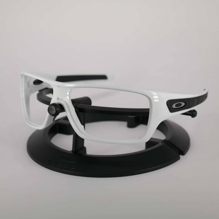 Oakley Turbine Rotor Frame - Polished White / Satine Silver Keret-101-767-019