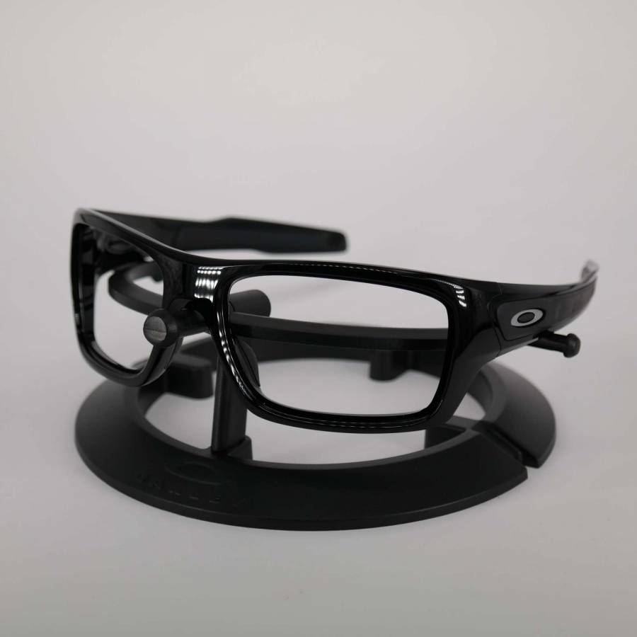 Oakley Turbine Frame - Polished Black / Satine Silver Keret-101-030-018