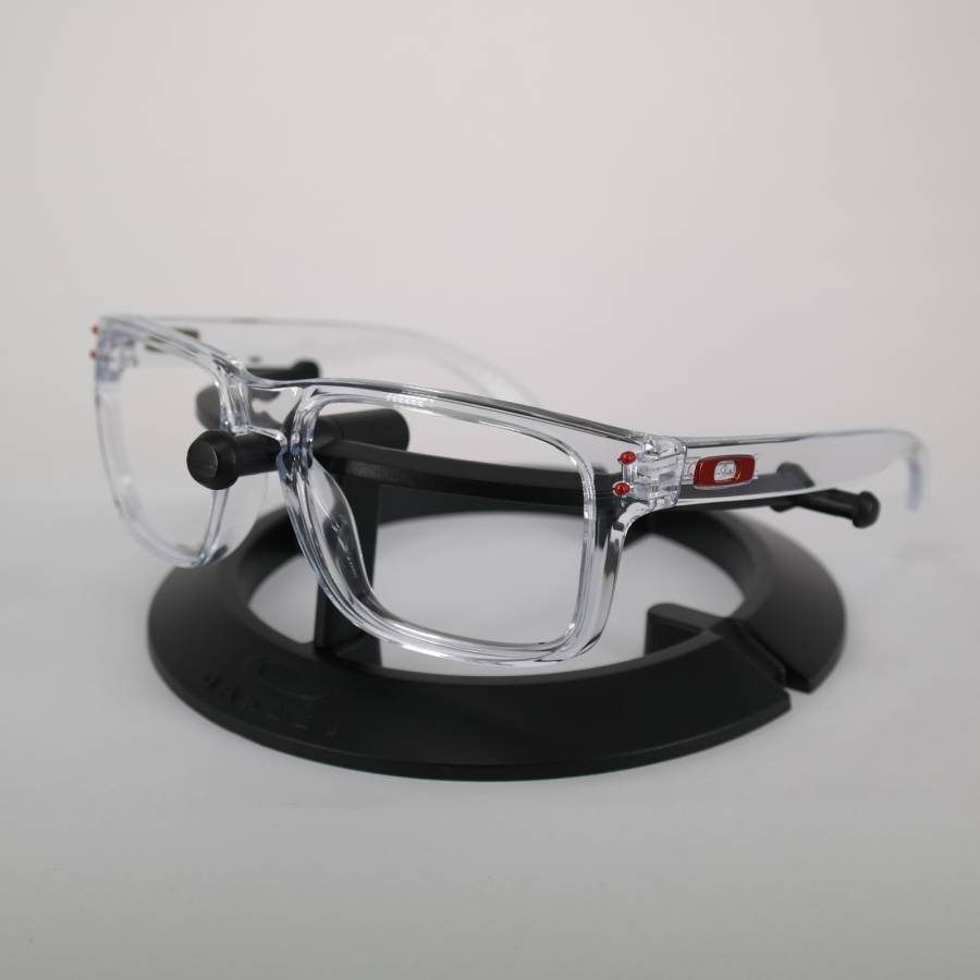 Oakley Holbrook Frame - Polished Clear / Team Red Keret-600-134-057