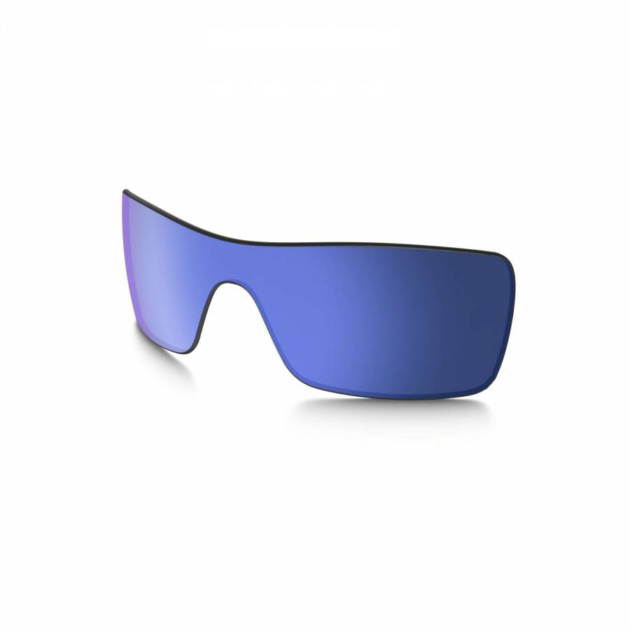 Oakley Batwolf Lens - Ice Iridium Polarized Lencse-42-041