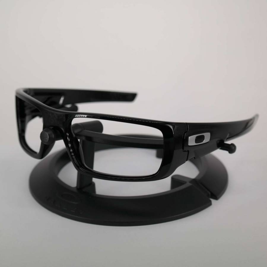 Oakley Crankshaft Frame - Polished Black / Silver Keret-601-223-001