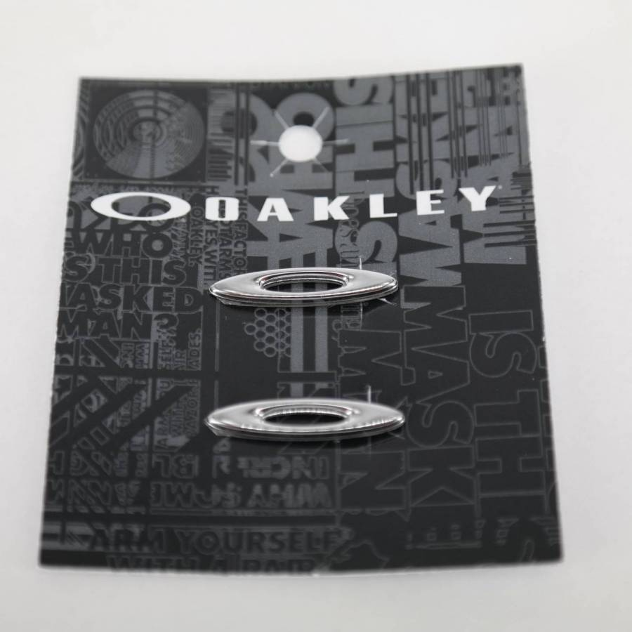 Oakley Racing Jacket Icon - Polished Chrome Ikon-08-054