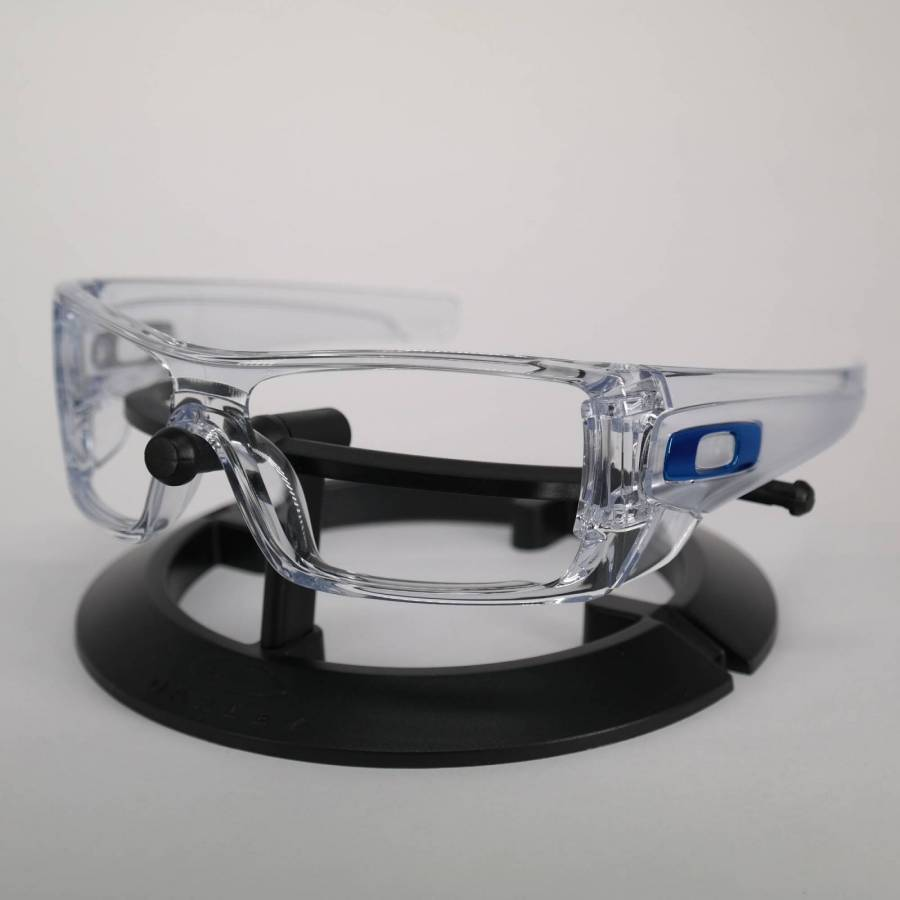 Oakley Batwolf Frame - Polished Clear / Team Blue Keret-61-777