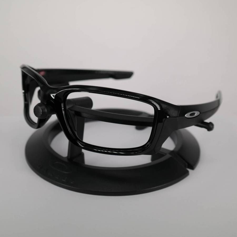 Oakley Straightlink Frame - Polished Black / Chrome Keret-102-166-009
