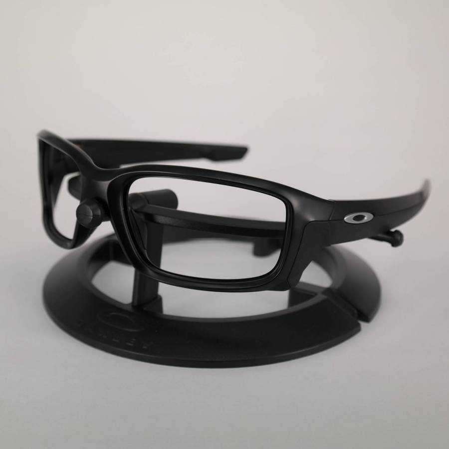 Oakley Straightlink Frame - Matte Black / Chrome Keret-102-166-010
