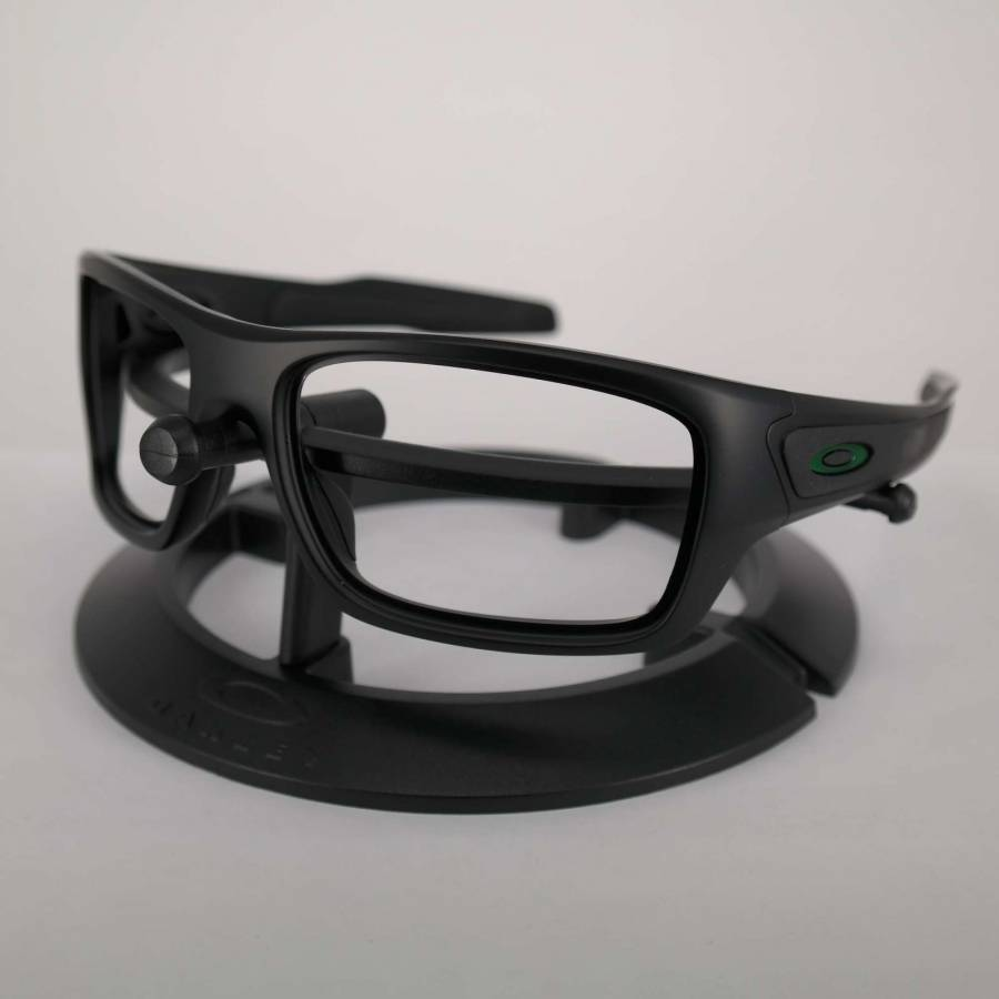 Oakley Turbine Frame - Matte Black / Anodized Green Keret-101-030-034
