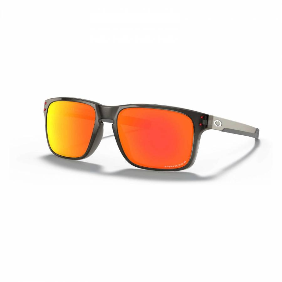 Oakley Holbrook Mix Grey Smoke - Prizm Ruby Polarized Napszemüveg-OO9384-0757